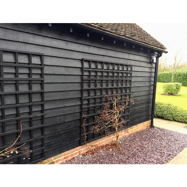 ex 32 x 175mm Black Painted Feather Edge The Timber Group