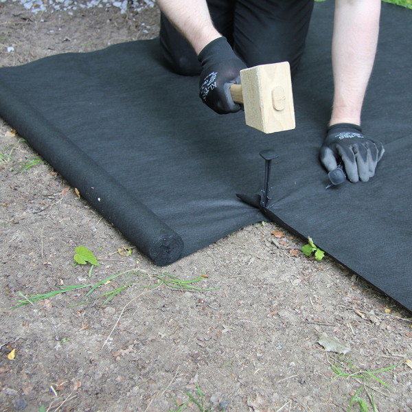 Weedtex Ground Cover Membrane Application