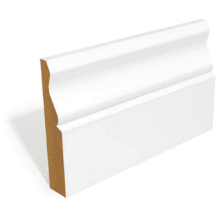 18 x 144mm MR MDF Primed Ogee Skirting 4.4m
