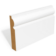 18 x 144mm MR MDF Primed Torus Skirting 4.4m