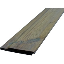 19 x 125mm Shiplap Cladding - Green Treated (14 x 119mm Finish Size) (p/mtr)