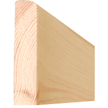 19 x 50mm Pencil Round Softwood Architrave (15 x 45mm Finish Size) (p/mtr)