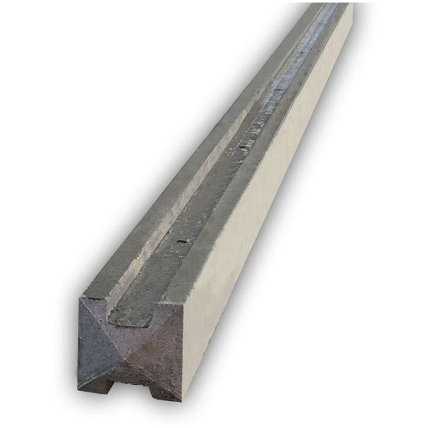 6ft (1830mm) Concrete Slotted Post - Intermediate