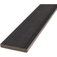 20 x 138 x 3600mm T-Deck Ebony Composite Square Edging Step
